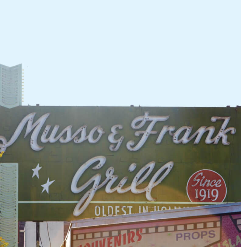 The Avenue Hollywood Neighborhood Musso Frank