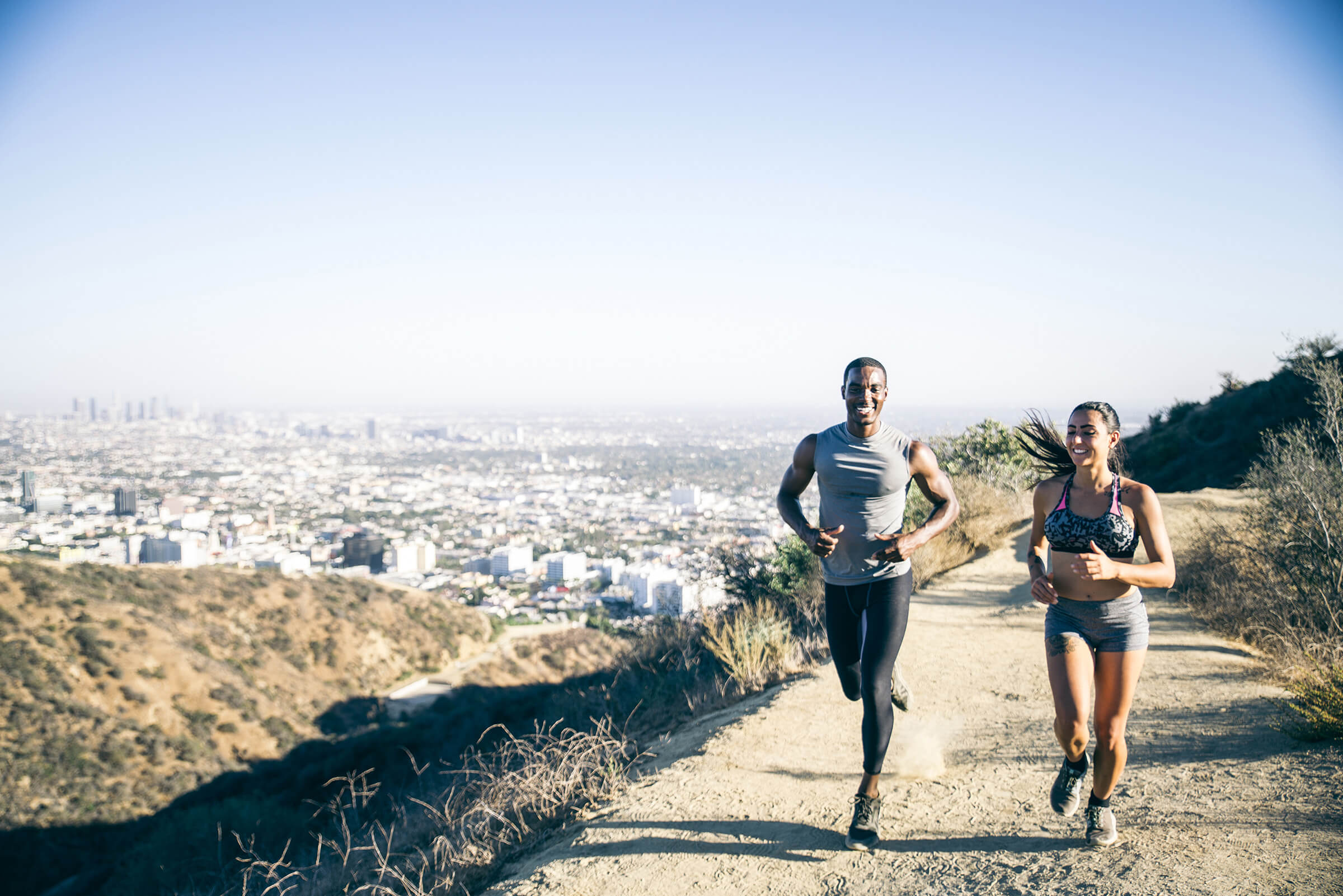 The Avenue Hollywood Neighborhood Running Outdoors
